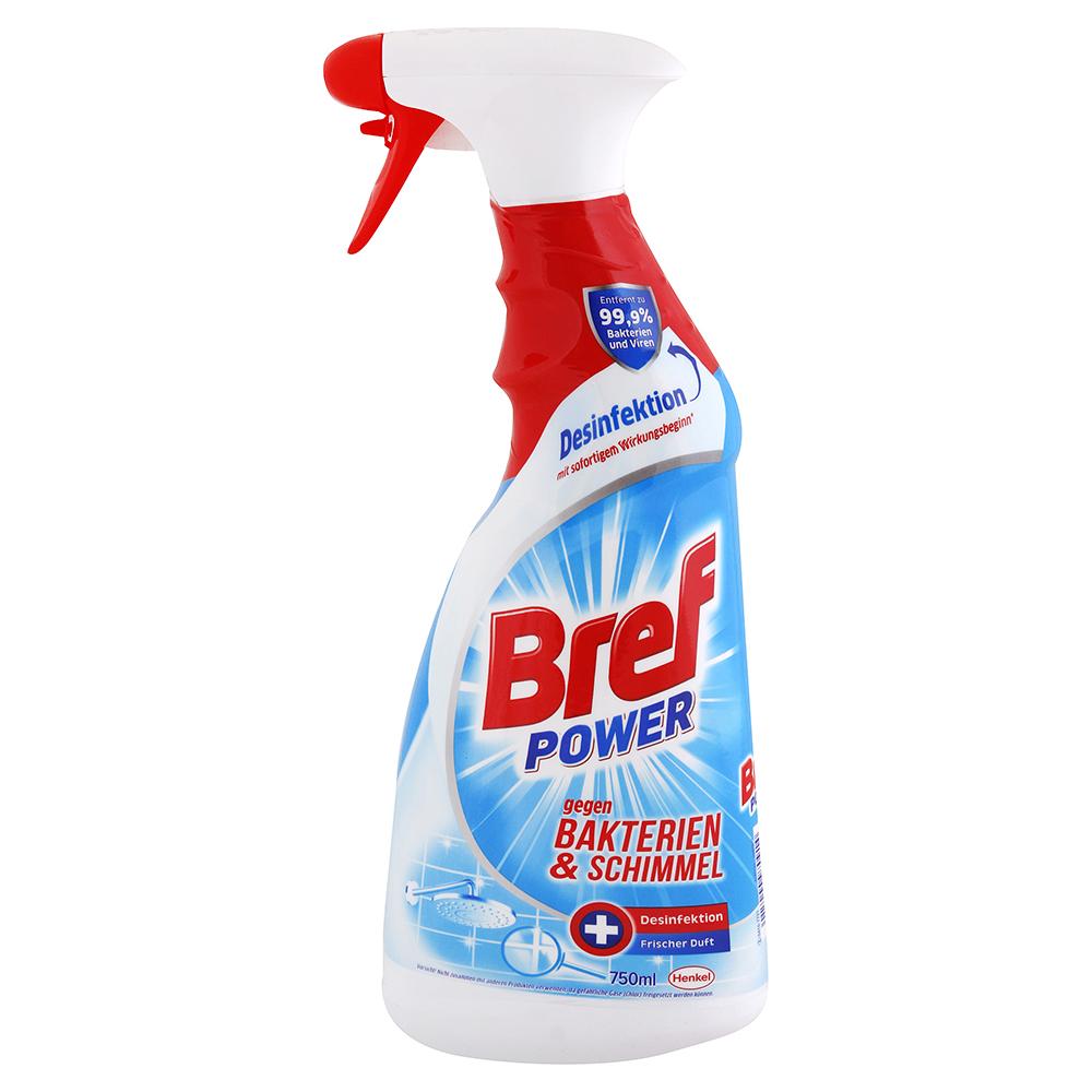 Levně BREF power čistič bakterií a plísní 750 ml