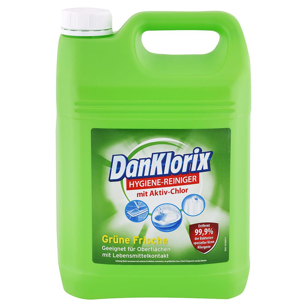 Levně DANKLORIX hygienický čistič s aktivním chlórem Zelená svěžest 5 l