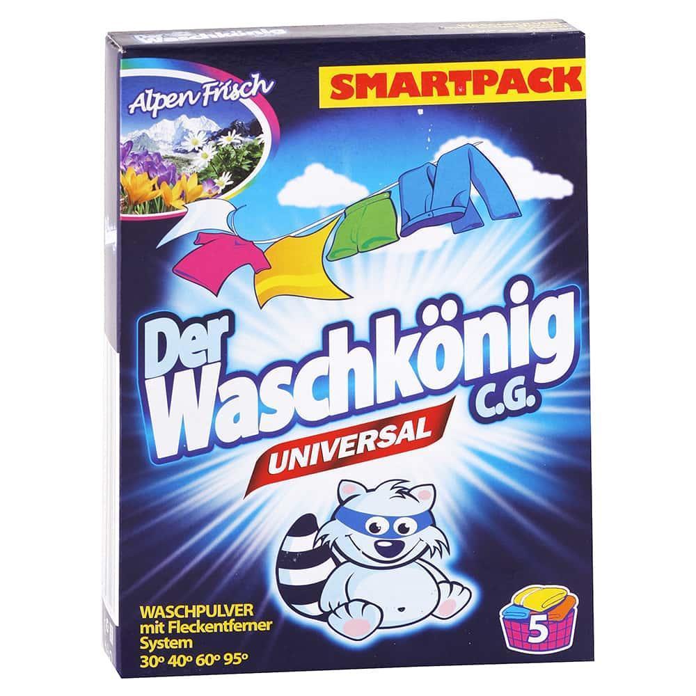 Levně WASCHKONIG univerzální prací prášek 375 g / 5 praní